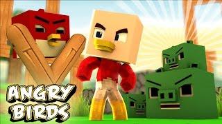 Minecraft - WHO'S YOUR DADDY? - O BEBÊ PASSARINHO ( Angry Birds O Filme )