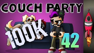 COUCH PARTY #42 | 100K SUBSCRIBERS! | Little Nightmares | Zombies Chronicles | Rockit Gaming