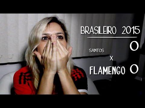Flamengo 0x0 Santos Brasileiro 2015