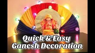 Quick & Easy Ganesh Decoration Idea 2    HC#32