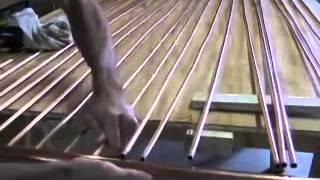 چگونه یک پنل صفحه تخت بسازیم؟/ ?how to make a solar flat panel