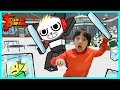 Ryan ToysReview VS Combo Panda On Roblox Ice Breaker Epic Game 3gp mp4 video