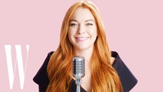 Lindsay Lohan Re-enacts Her 8 Favorite Mean Girls Quotes | W Magazine