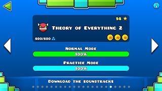 "Geometry Dash - ""Theory of Everything II"" 100% Complete - GuitarHeroStyles"