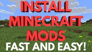 How to Install Minecraft Mods - PC