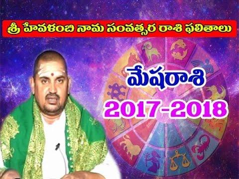 Mesha Rasi మేష రాశి 2017- (Aries Horoscope) Telugu Rasi Phalalu 2017 To 2018