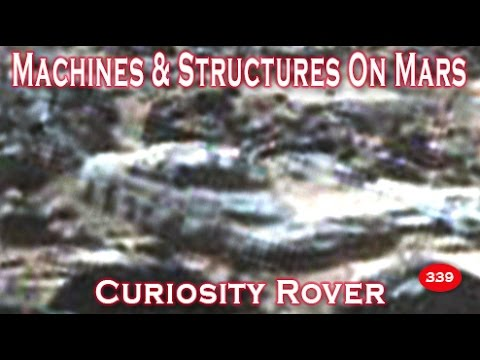 Destroyed Machines & Structures On Mars Imaged By Curiosity Rover