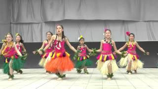 Kids HULA Agirl milimili さん <Hula DANCE>