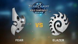 StarCraft 2 - FeaR vs. Elazer (PvZ) - WCS Jönköping Challenger EU - Qualifier #2