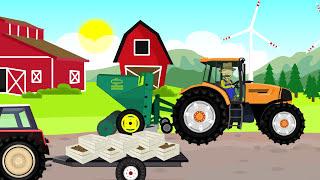 🚚 Construction machinery Formation and uses for Kids | Truck i Betoniarka Konstrukcja dla dzieci 🚛