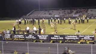 SMHS Panther Marching Band 9-27-13 Half Time, part 1