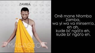 MAGASCO FT JACQUES-GREG BELOBO ZAMBA (lyrics)