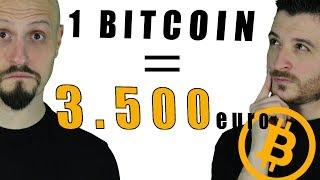 BITCOIN: PIÙ DI 3.500€ DI MONETA ELETTRONICA