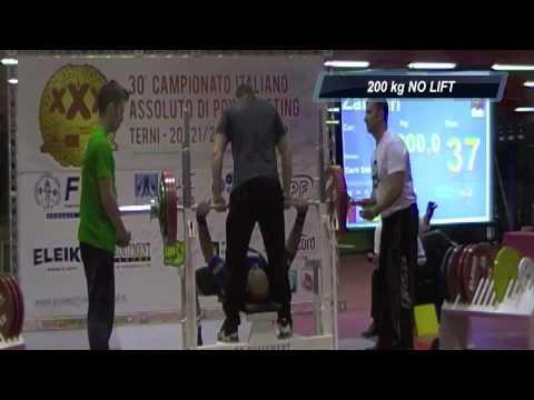 XXX Italian National Champ FIPL/IPF - Giuseppe Zangari