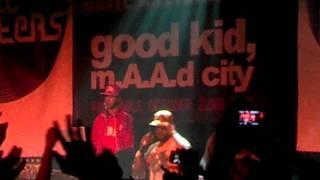 Kendrick Lamar w/ ScHoolBoy Q
