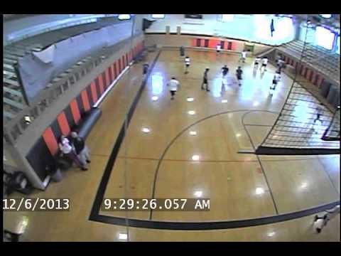 Wrestling mat vs. girl Gym Class Fail