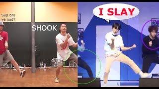 BTS - 3J unit stage dance practice VS original choreo