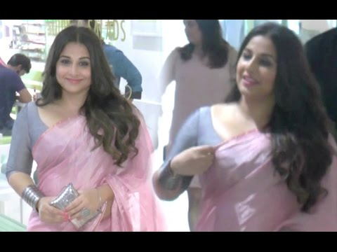 Vidya Balan In Pink Saree