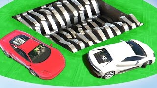 EXTREME CAR SHREDDER DERBY (GTA 5 Funny Moments)