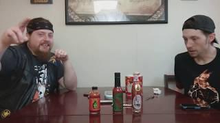 "Triple threat hot sauce series EP#3 ""Pure Carolina Reaper"""