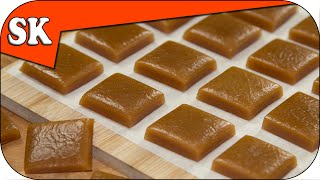 HOW TO MAKE CARAMELS - Chewy Caramel Toffee