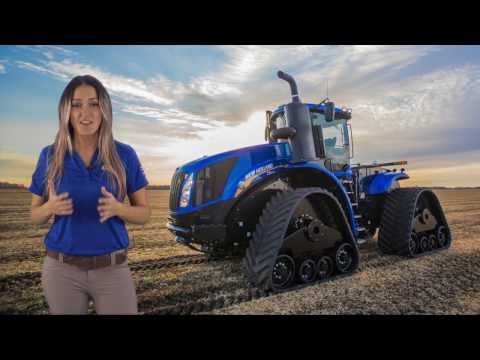 New Holland T9 Tractors SmartTrax™ II Track System