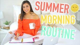 Summer Morning Routine 2017 + Epic Workout! | Jeanine Amapola