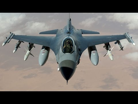 watch DREAM JOB FLYING !!! US Air Force F-16 Aircraft Pilot Documentary