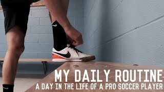 A Day In The Life of A Professional Soccer Player | My Daily Routine | Episode Five