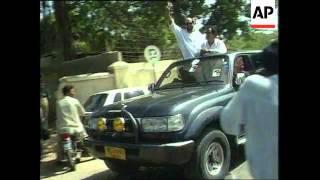 Pakistan - Murtaza Bhutto Freed From Prison