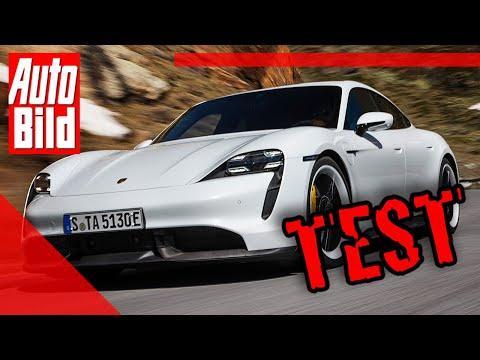 Porsche Taycan 2019 Auto Test Fahrbericht Elektro Infos
