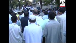 WRAP Protest against deadly strike plus madrassa destruction ADDS Bajur rally