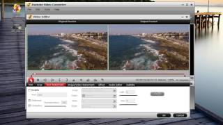 Add text watermark to video with Pavtube Video Converter.