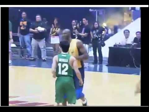 Kobe Bryant playing with UAAP All