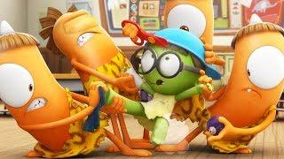Funny Animated Cartoon | Spookiz | Kebi Gives Zizi A Makeover | 스푸키즈 | Cartoon For Children