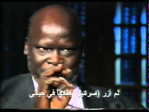 محمد سعيد محفوظ يحاور جون قرنق فبراير ٢٠٠٢