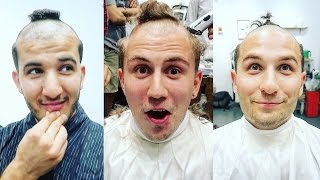 THE WORST HAIRCUT OF ALL TIME (PARENTS REACT) - The Japanese Samurai Chonmage Haircut!