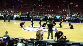 MODiFYD's Sixers vs. Lakers Pre-Game Performance