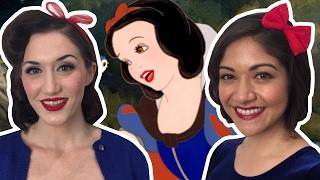 Snow White Bob Hair Style | How to by Lady Damfino | Disney Style