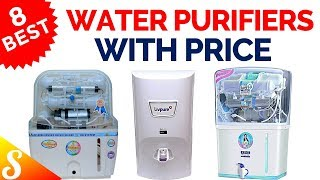 8 Best Water Purifiers RO + UV/UF in India with Price | Best Selling Water Purifier 2018