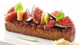 Roger van Damme Desserts - Vijgentaartje met pistachecrème