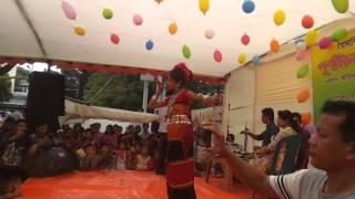 chakma girl tripura dance 24/4/15cepz