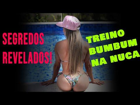 TREINO DE GLÚTEOS COM MÁRCIA FEIJÓ IFBB BODY FITNESS