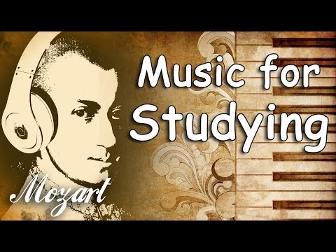 Mozart Classical Music for Studying and Concentration Relaxation Reading Instrumental Music