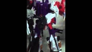 Transformer combiner wars Galvatron,Menasor and Bruticus