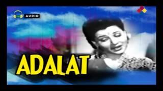 Bairan Ho Gayi Raat | Adalat 1948 | Mohammed Rafi, Mohantara Talpade