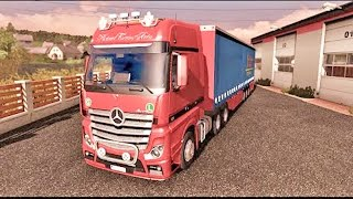 Mercedes Benz Actros MP4 ETS2 (Euro Truck Simulator 2)
