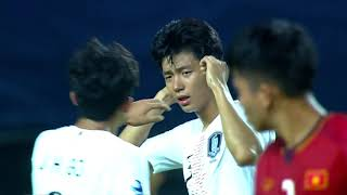 Vietnam 1-3 South Korea (AFC U19 Indonesia 2018 : Group Stage)