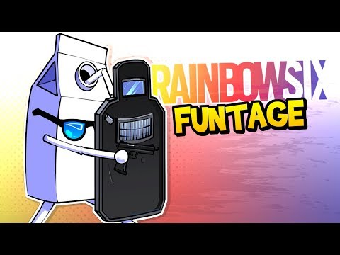 Rainbow Six Siege FUNTAGE The BEST Clutch EVER & MORE