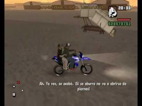 gta san andreas gabriel com suas motos r1 xt 660 re 350 e 150